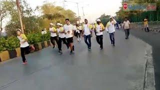 Jain Social Organisation Marathon held in Malad | Mumbai Live