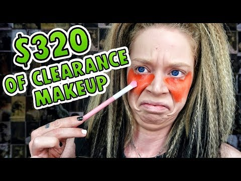 Full Face of ULTA CLEARANCE MAKEUP I Spent 320 to LOOK LIKE THIS