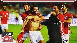 ملخص لمسات وهدف محمد صلاح في مباراة مصر وتونس