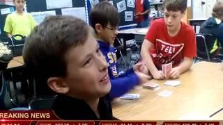BREAKING NEWS , KIDS PLAYING POKER/CARDS