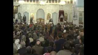 حفل استقبال في كنيسة يبرود