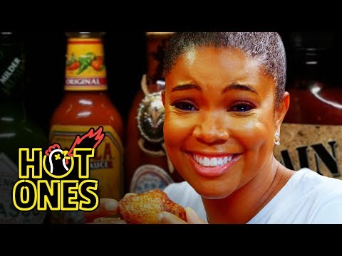 Gabrielle Union Impersonates DMX While Eating Spicy Wings Hot Ones