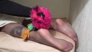 Nylon Feet Tickling Sleep. Johnnabelle: The Haunted Tickler Doll.