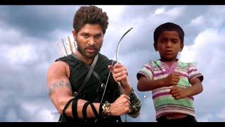 Allu arjun dialogue in Rudramadhevi | Sarrainodu - Blockbuster Song Promo || Allu Arjun