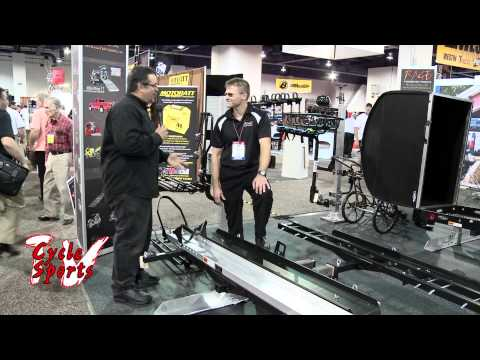 SMC600 Hitch Mounted Motorcycle Transport from SEMA Show