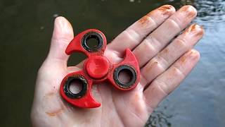 River Hunting! - Found Nemo, Brass Knuckles, Fidget Spinner and More!