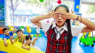 Kids Go To School | Chuns and Best Friends Play Fun Picnic In Fairy Garden Children