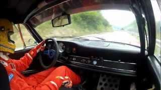 Cesana - Sestriere 2012 - Porsche 911 2.4 S 1973 - Simone Bertolero - Camera Car