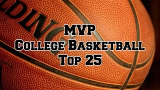 MVP College Basketball Top 25 Rankings: Dec. 28 through Jan. 3