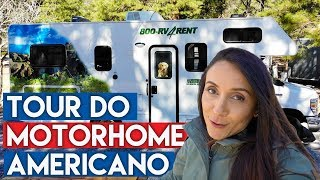 TOUR DO MOTORHOME AMERICANO | Travel and Share | Romulo e Mirella