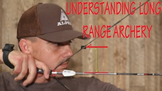 Long range bow shooting- Equipment set up