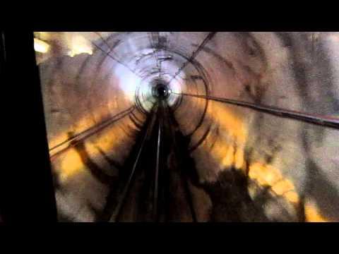 Part 2: Ski Tube Journey - Entering Perisher Tunnel