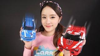 또봇 애슬론 알파 베타 캐리의 변신 로봇 자동차 장난감 놀이 CarrieAndToys