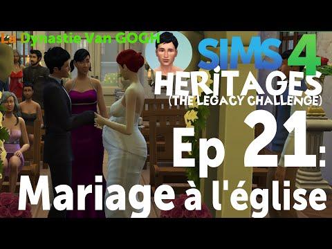 Les Sims 4 [FR]   Legacy Challenge   Ep.21: Mariage à l'église [Héritages]