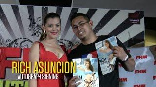 Rich Asuncion FHM Autograph Signing