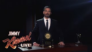Jimmy Kimmel Live Honored with J.D. Power Award