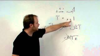 alif baa Unit Eight: alif madda ألف مدّة
