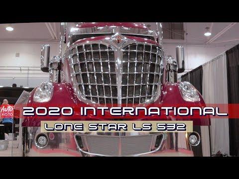2020 International Lone Star LS532 500hp Exterior And Interior 2019 Atlantic Truck Show