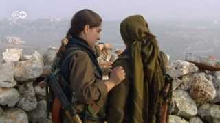 Syria: Kurdish women soldiers against jihadists | Global 3000