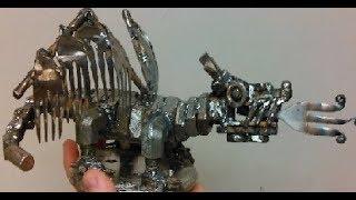 Dragons , Cats, Eagles, and More Scrap Metal Art Compilation