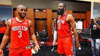 James Harden Fights Chris Paul Verbally Then Chris Paul Gets Traded (Parody)