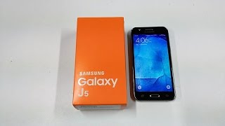Test : Samsung Galaxy J5
