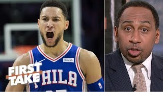 Ben Simmons is costing the 76ers a championship – Stephen A. | First Take