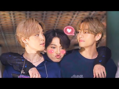 This is how VMINKOOK BTS steal your heart Maknae Line