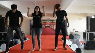 Sizzling Dance Performances during Fresher Party