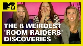8 Jaw-Dropping 'Room Raiders' Discoveries 👀 | MTV Ranked
