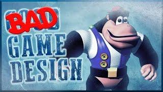 Bad Game Design - Donkey Kong 64