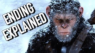 War for the Planet of the Apes Ending Explained