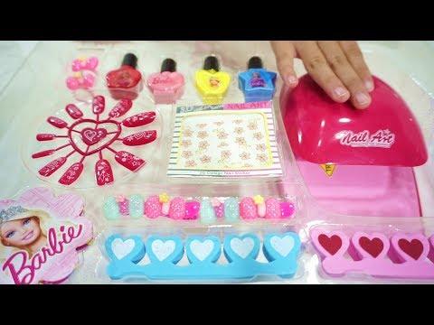 Xxx Mp4 Barbie Nail Art Fashion Set 💖 Mainan Anak Riasan Kuku Cantik 💖 Let S Play Jessica Jenica 3gp Sex