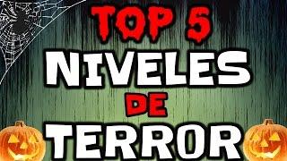 ¡TOP 5 NIVELES DE MIEDO EN GEOMETRY DASH! - MiKhaXx