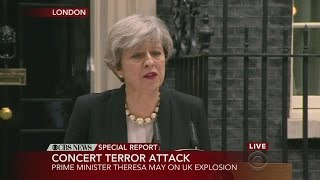 Web Extra: UK Prime Minister May On Concert Explosion