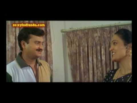 jayalalitha aunty sexy in black saree & blouse