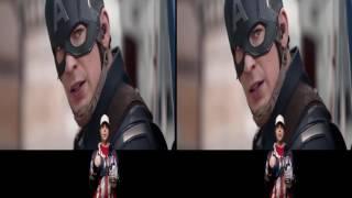 Captain America Civil War Review in 3D