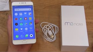 Meizu M3 Note Unboxing and Impressions