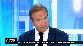Partis politiques : le ras-le-bol des français #cdanslair 02-09-2016
