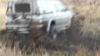 Mitsubishi Colt Rodeo v6 Supercharger mud bath