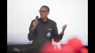 Ijambo Perezida Kagame yagejeje ku banyagisagara ubwo yaherekezaga abakandida Depite ba FPR.
