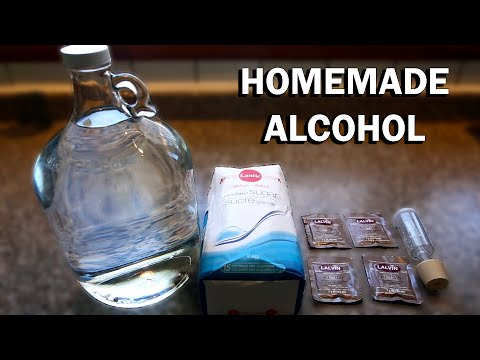 How to make Alcohol at Home Ethanol