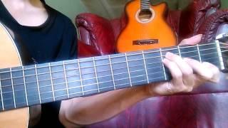 Intro Gitar - Perahu Kertas + Slow Tutorial