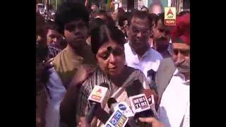 Reaction of wife Deepa Dasmunsi on Last Rites of Priya Ranjan Dasmunshi