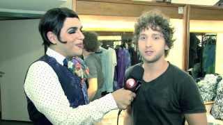 """Caike Luna mostra os bastidores de """"Rock in Rio - O Musical"""""""