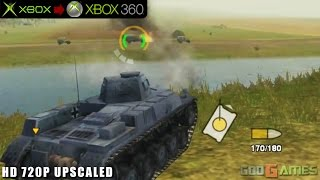 Panzer Elite Action: Fields of Glory - Gameplay Xbox HD 720P (Xbox to Xbox 360)