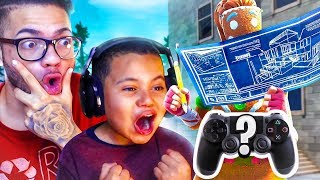 MY LITTLE BROTHER IS UNSTOPPABLE ON BUILDER PRO!! HIS NEW *SECRET SETTINGS REVEALED! FORTNITE BR