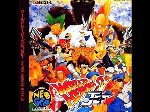 『ワールドヒーローズ2JET』   -   kikutetu [P1] vs ojing [P2]