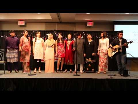 MASA OSU 2014 Cultural Night 2014 - MASA EXCO Choir