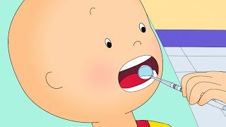 Caillou At the Dentist | Fun for Kids | Videos for Toddlers | Full Episodes | LIVE CAILLOU 2017 🔴